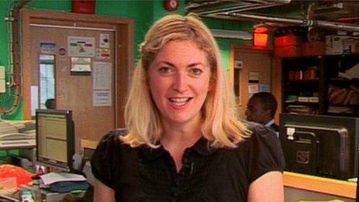 BBC Reporter Natalie Jamieson