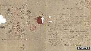 Beethoven letter