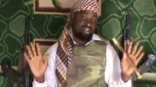 Boko Haram leader Abubakar Shekau