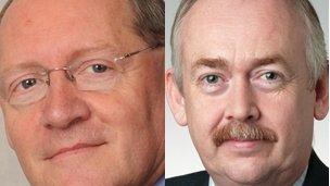 Jonathan Evans MP and Wayne David MP