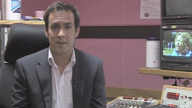 BBC Breakfast reporter Tim Muffett