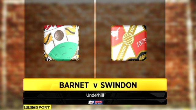 Barnet 1-1 Swindon