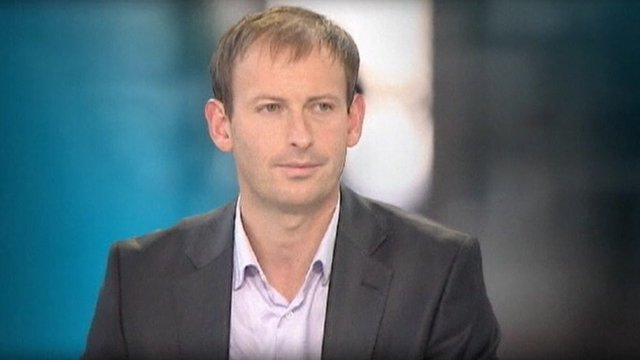 A French journalist, Gilles Jacquier.