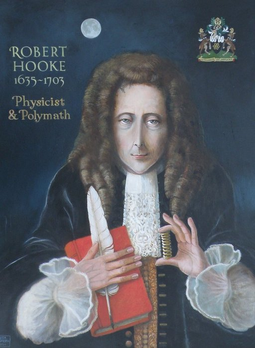 New portrait of Robert Hooke