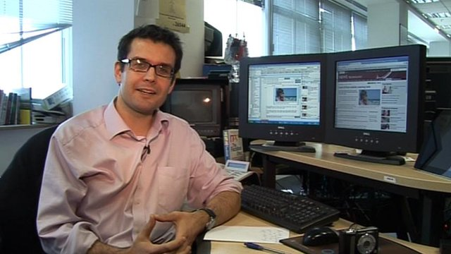 BBC journalist Iain Mackenzie explains the key elements of a good web story