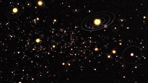Galaxy of stars