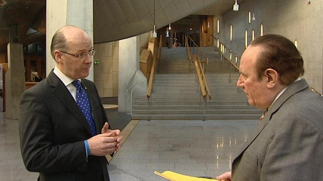 John Swinney and Andrew Neil