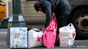New York shopper