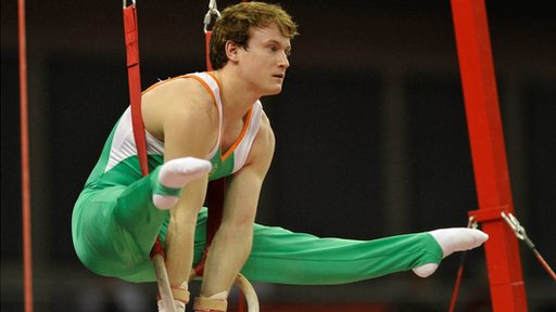 Irish gymnast Kieran Behan