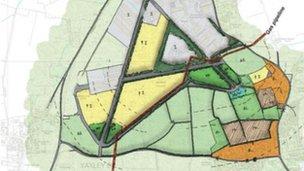 Eye airfield plan