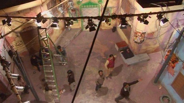 Film studio in Lahore