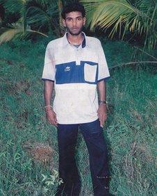 Tamizhini's brother Rassaiya Anandadeepan