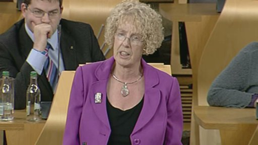 SNP MSP Margaret Burgess