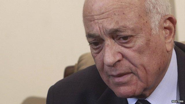 Arab League Secretary General Nabil El Arabi