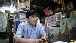 Burma pro-democracy leader Min Ko Naing