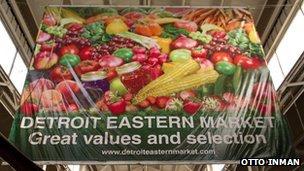 Detroit Eastern Market sign