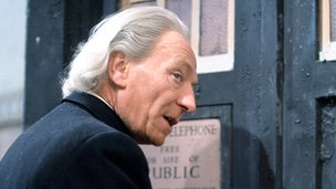 William Hartnell as the Time Lord in the the first series of 'Doctor Who'