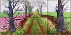 A Closer Winter Tunnel, FebruaryMarch, 2006 by David Hockney