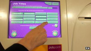Job Point in Jobcentre Plus