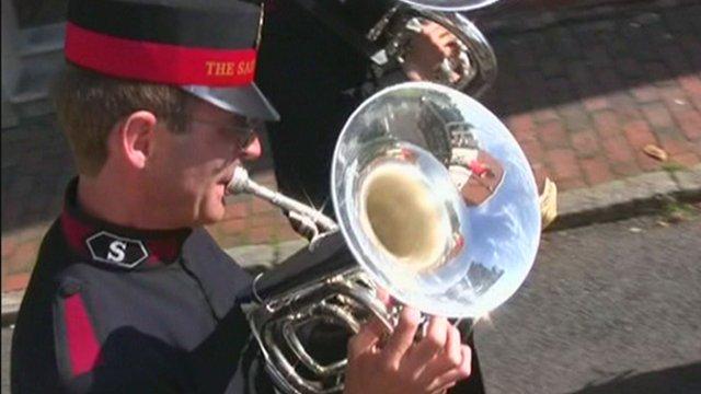 Salvation army film footage