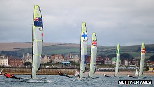 LOCOG Test Events for London 2012 - Weymouth and Portland International Regatta