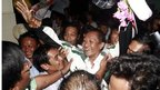 Journalist Win Maw, jailed after 2007 protests, freed from prison (13 January 2011)