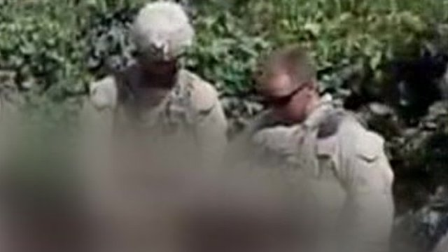 Two of the marines in the video