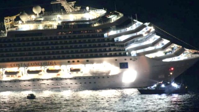 The Costa Concordia 