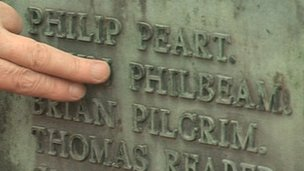 Name spelt wrongly on memorial