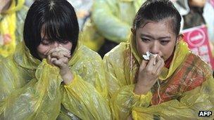 Tsai Ing-wen supporters