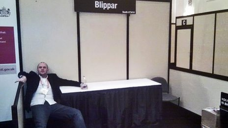 Blippar stand at end of CES