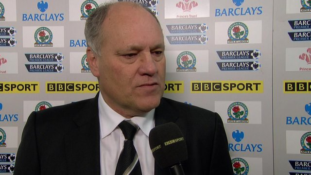 Fulham boss Martin Jol