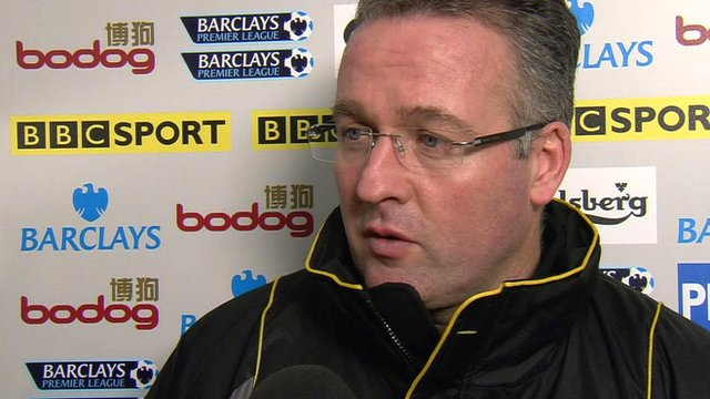 Norwich manager Paul Lambert