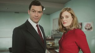 Dominic West and Romola Garai are both recognised for Abi Morgan's The Hour
