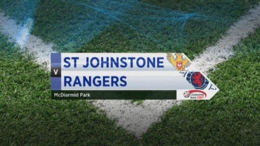 St Johnstone v Rangers