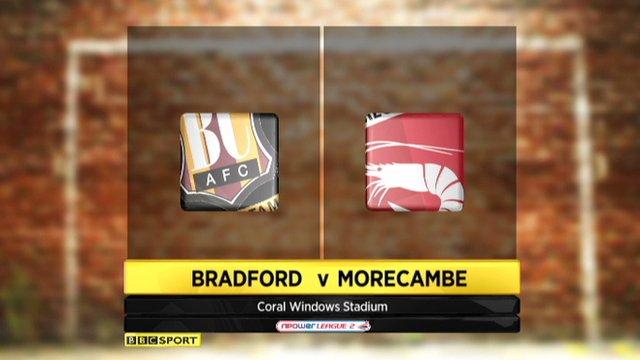 Bradford 2-2 Morecambe