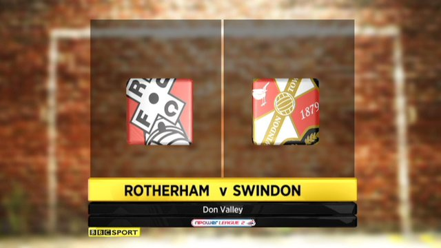 Rotherham 1-2 Swindon