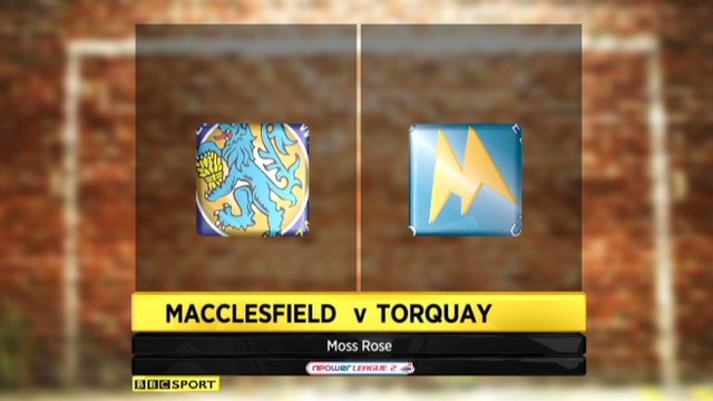 Macclesfield 1-2 Torquay