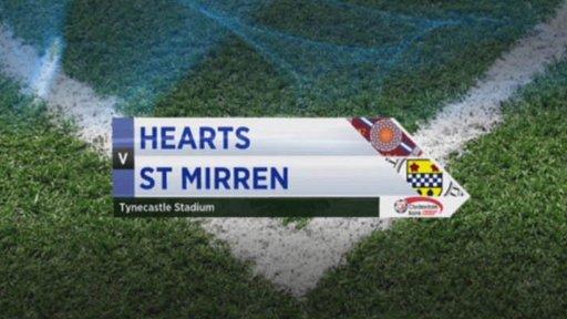 Hearts v St Mirren