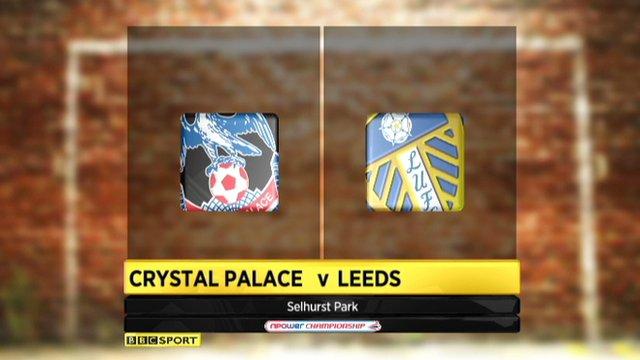 Highlights - Crystal Palace 1-1 Leeds