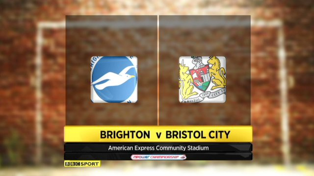 Highlights - Brighton 2-0 Bristol City