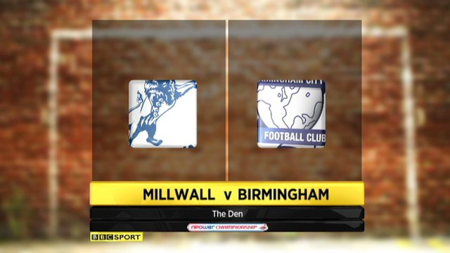 Highlights - Millwall 0-6 Birmingham