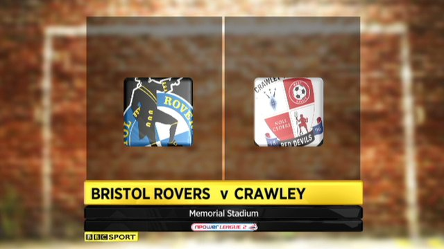 Bristol 0-0 Crawley