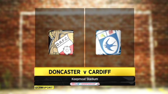 Highlights - Doncaster 0-0 Cardiff