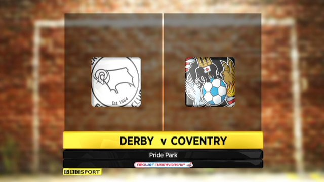 Highlights - Derby 1-0 Coventry
