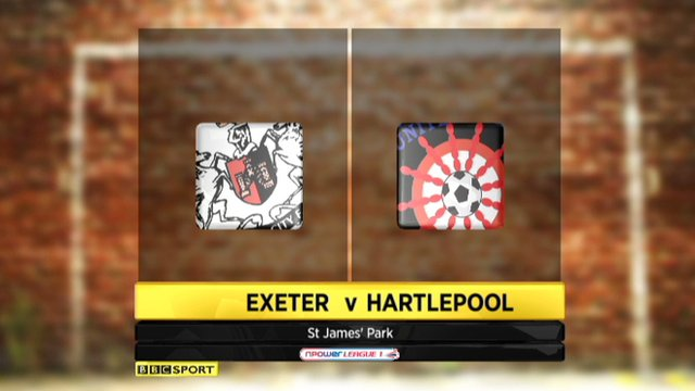 Highlights - Exeter 0-0 Hartlepool