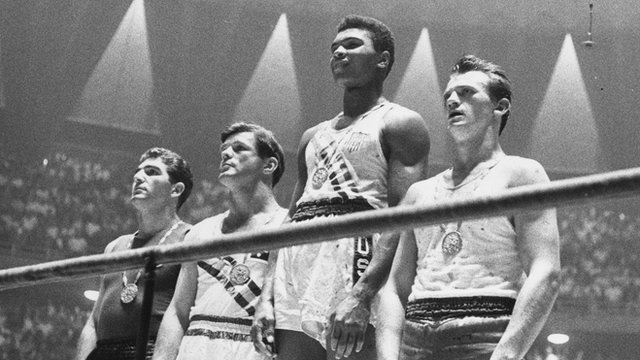 Bbc sport highlights cassius clay wins olympic gold in rome 1960