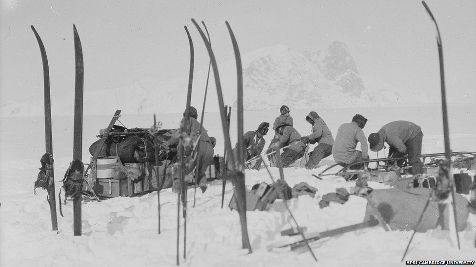 BBC News - In pictures: Scott's South Pole photographs mark ...