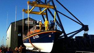 The Workington lifeboat