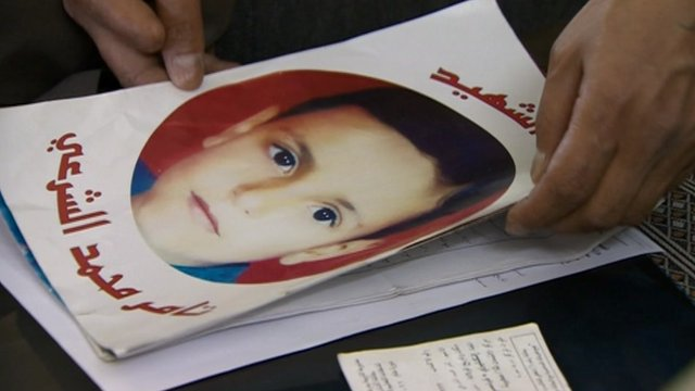 Picture of a Syrian child